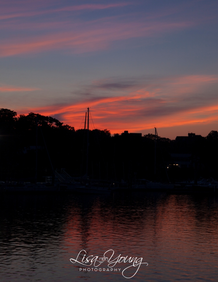 Glen Island Sunset